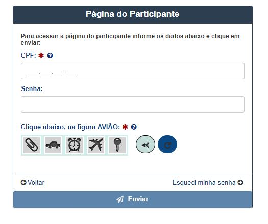Acessar a Página do Participante Enem