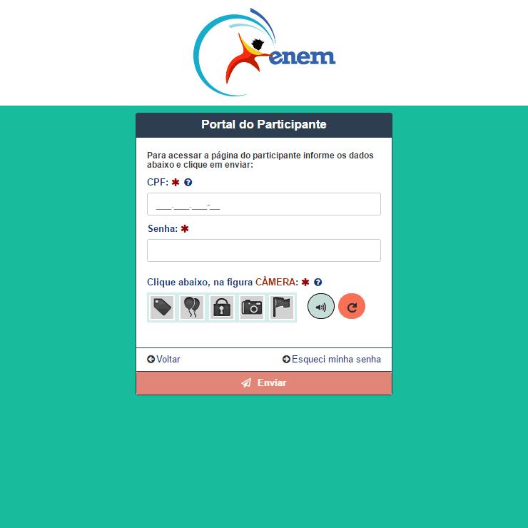 Consultar Isenção ENEM 2022