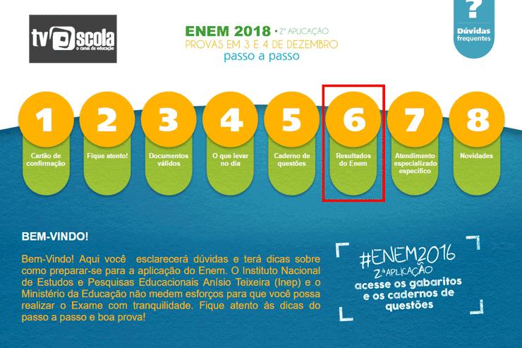 Resultado ENEM -Consulta notas ENEM 2022